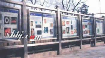 天津不锈钢广告栏