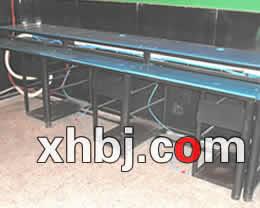 钢制网吧电脑桌
