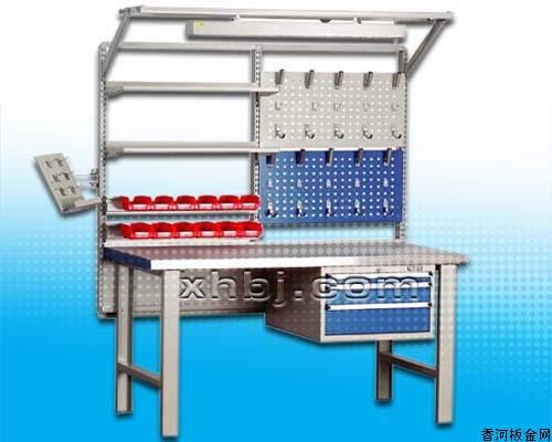 香河板金网提供生产承重型工作台组合厂家