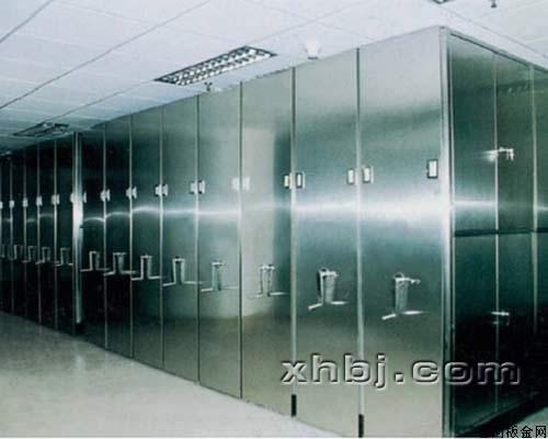 香河板金网提供生产豪华不锈钢密集架厂家