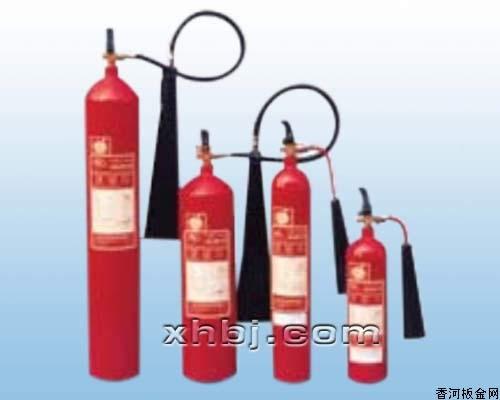 香河板金网提供生产手提式二氧化碳灭火器厂家