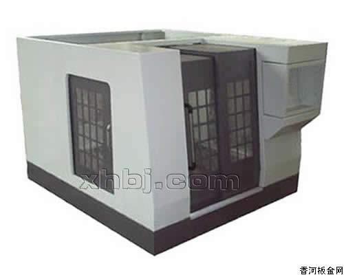 香河板金网提供生产数控机床防护罩规格厂家