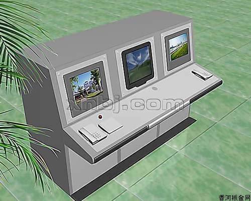 香河板金网提供生产三联操控台厂家