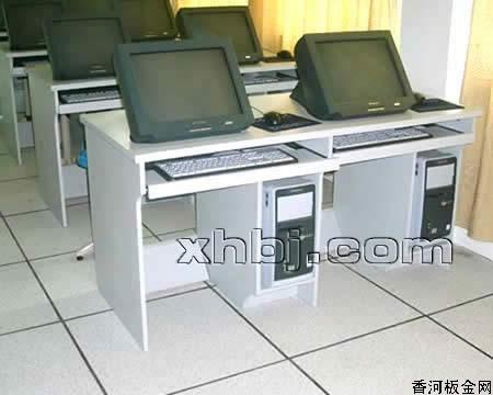 香河板金网提供生产双人嵌入式电脑桌厂家