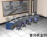 弧型液晶控制台