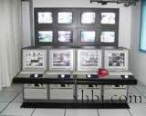 四联带显示器操作台