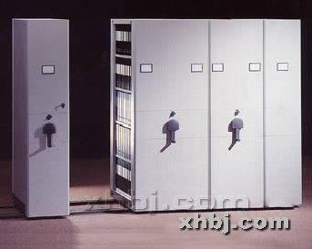 香河板金网提供生产单联摇柄密集柜厂家