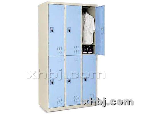 香河板金网提供生产挂锁六门更衣柜厂家