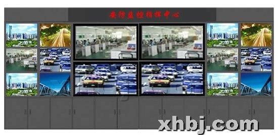 [电视墙] 监控指挥中心监控墙效果图