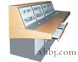 三联带键盘操作台