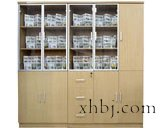 玻璃实木书柜