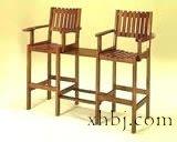台球专用木质休息椅