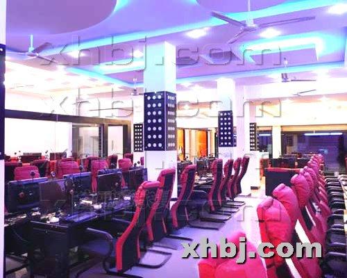 香河板金网提供生产河南郑州天龙网游部落网吧效果图厂家