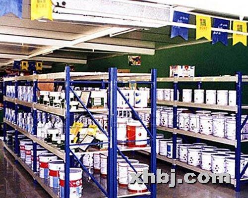 香河板金网提供生产建材超市货架厂家