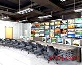青岛大型操作台电视墙组合