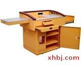 豪华型钢木讲台