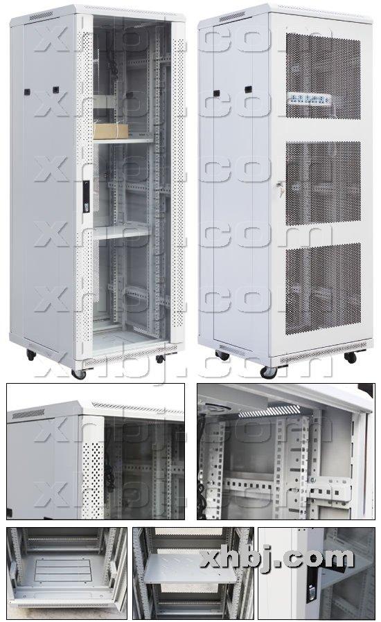 香河板金网提供生产TW白色网络服务机柜厂家