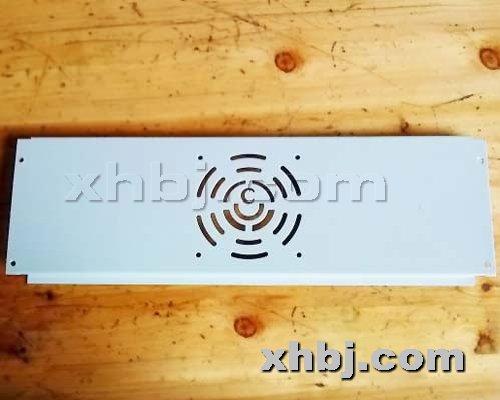 香河板金网提供生产机柜防伪风扇板厂家