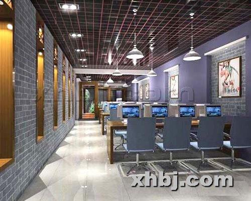 香河板金网提供生产湖南豪华网吧桌椅厂家