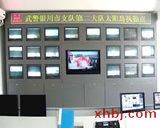 武警支队电视墙