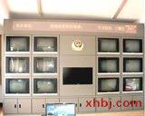 巡逻室电视墙