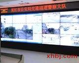 公安局交警大队电视墙