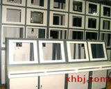 弧形机柜电视墙