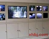 监控电视墙效果图