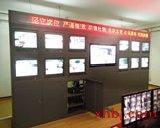 12+1位监控电视墙