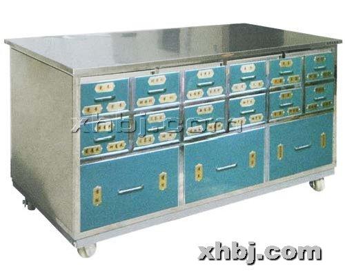 香河板金网提供生产不锈钢15屉中药柜厂家