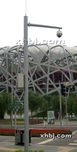 香河板金网提供生产公路监控杆厂家
