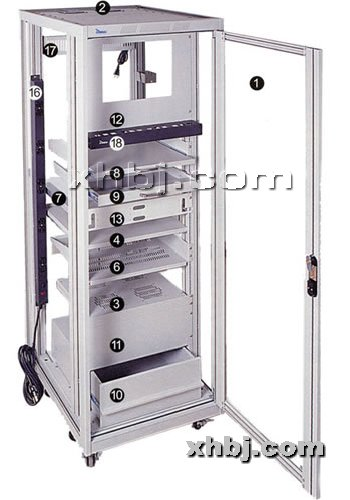 香河板金网提供生产移动支架机柜