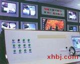 延安背光板电视墙