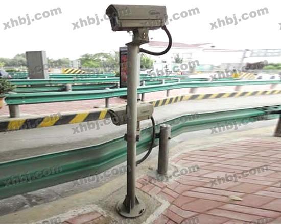 香河板金网提供生产监控摄像机立杆