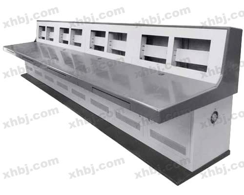 香河板金网提供生产半豪华三联操作台厂家