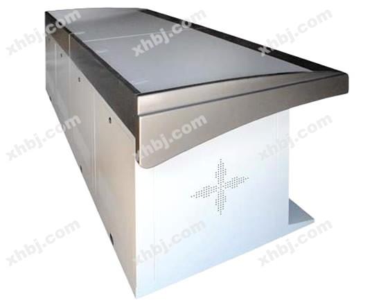 香河板金网提供生产新款电视台操作台厂家