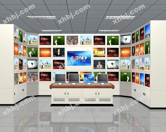 香河板金网提供生产新款多媒体电视墙厂家