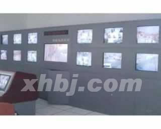 小区监控系统电视墙