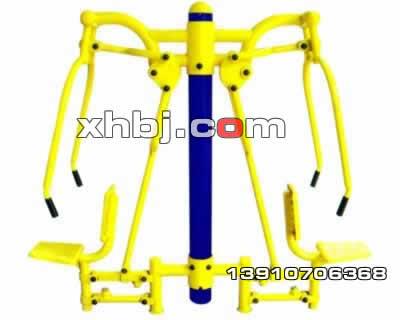 香河板金网提供生产坐推器(双人)厂家