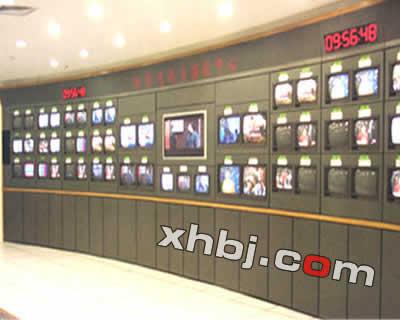 南京电视台电视墙