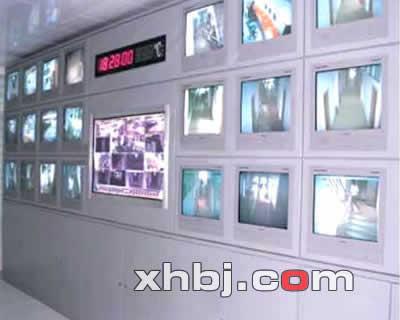 清华大学学生公寓电视墙