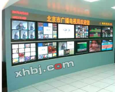 广播电视局电视墙