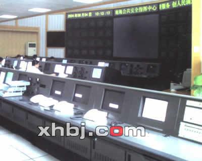 巫山电视台电视墙