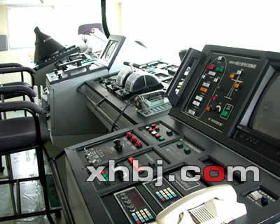 北京公安指挥中心操作台