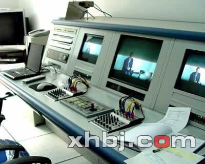 津-晋高速公路总控室控制台