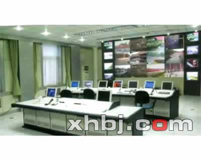 上海公安指挥中心操作台