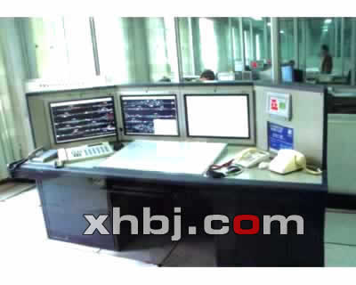 铁路调度监控室操作台
