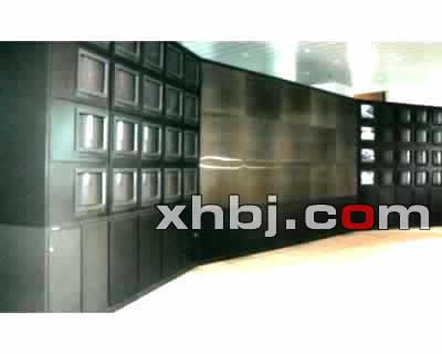 弧形组合电视墙