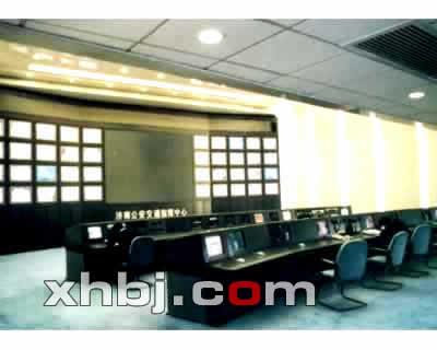 公安交警指挥中心电视墙