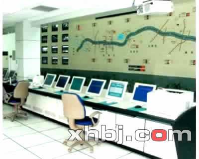 深圳高速公路监控中心操作台
